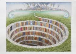 Księgarnia odkrywkowa/Open-cut bookshop
