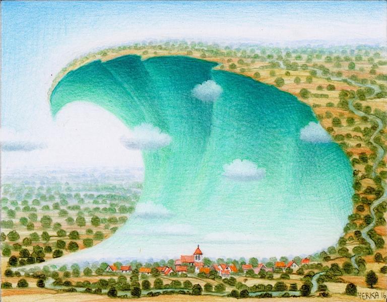 Friendly tsunami