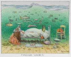 Mermaid's nap