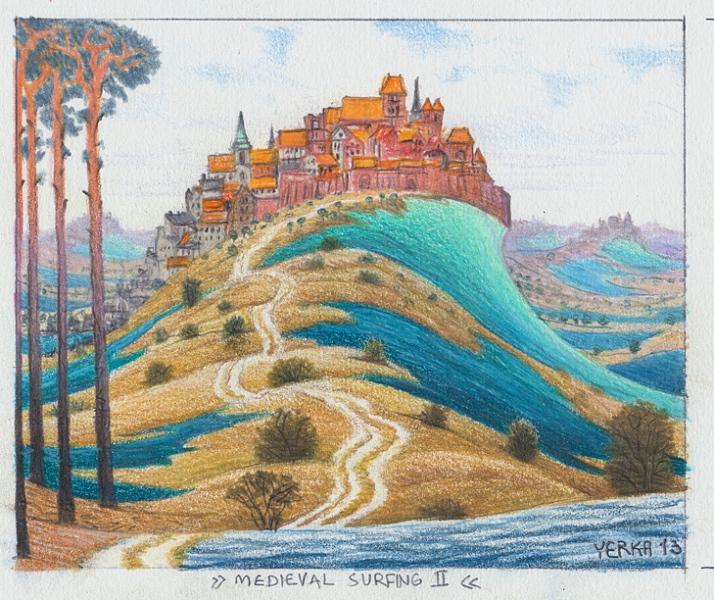 Medieval surfing