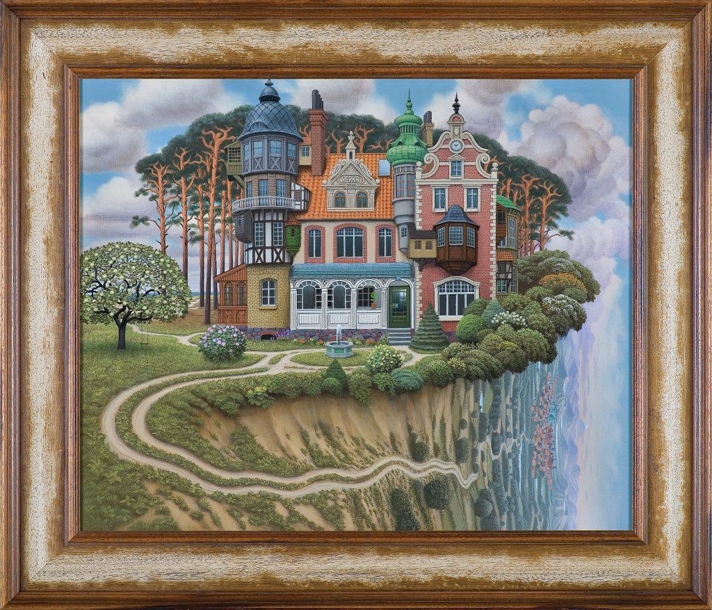 Jacek Yerka, Family house